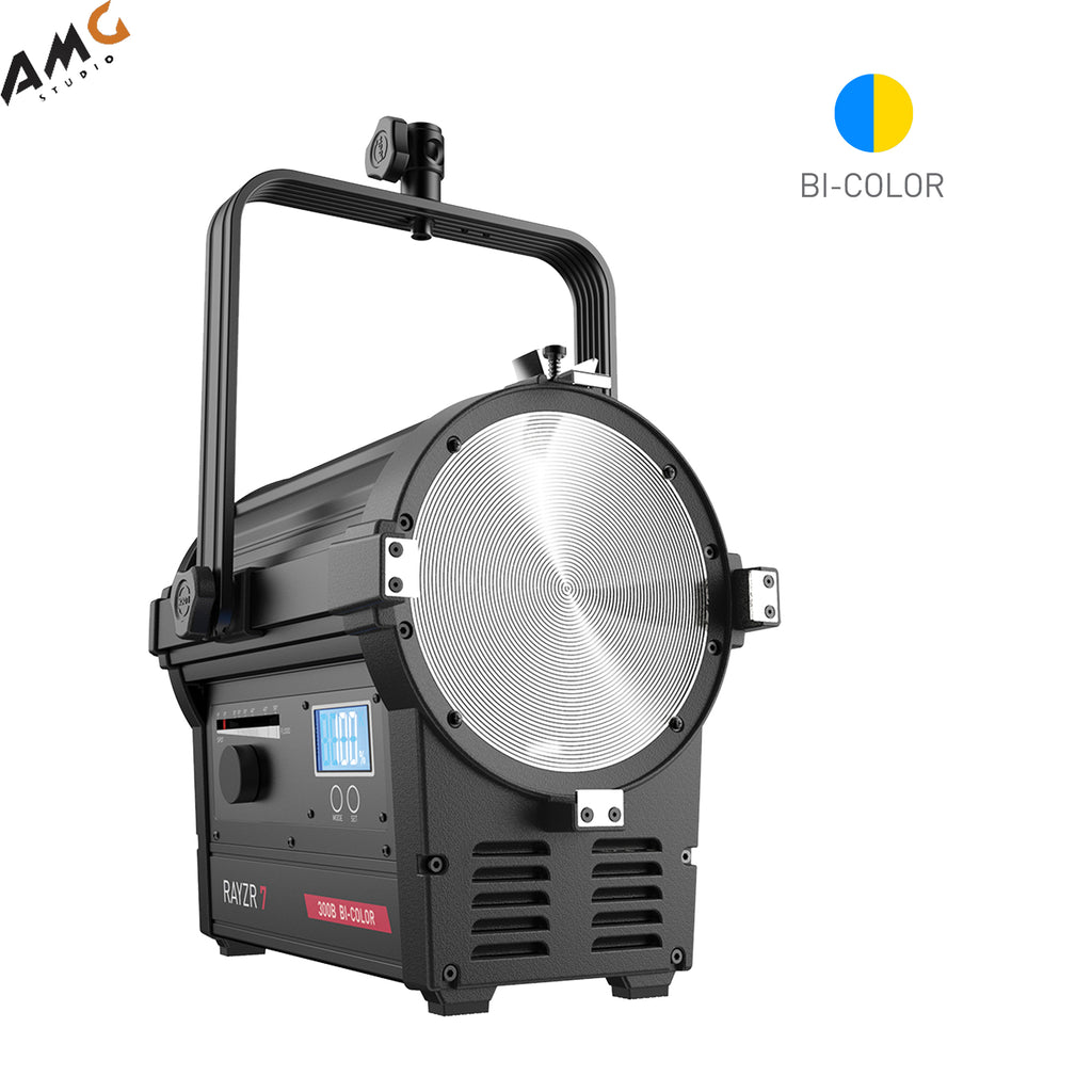 "Rayzr 7 7"" 300W Bi-Color LED Fresnel Light (Standard Pack) 123050021230"