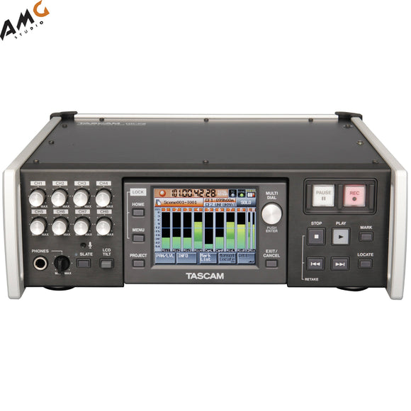 Tascam HS-P82 8-Channel / 10-Track Multi-Track Field Recorder - Studio AMG