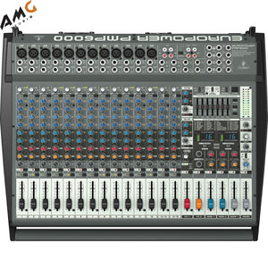 Behringer PMP6000 20-Channel Powered Mixer - Studio AMG