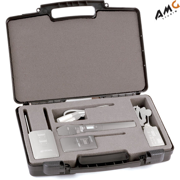 Azden CC-320 Hardshell Carrying Case for 310/330 Wireless Microphone Systems - Studio AMG
