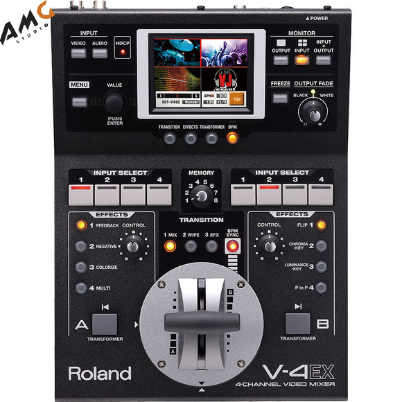 Roland V-4EX Four Channel Digital Video Mixer With Effects - Studio AMG
