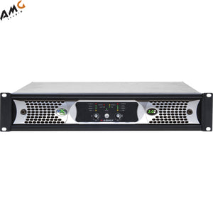 Ashly nX3.02 Power Amplifier 2 x 3000 Watts/2 Ohms with Programmable Outputs - Studio AMG