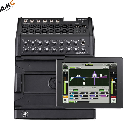 Mackie DL1608 iPad-Controlled 16-Channel Digital Live Sound Mixer with Lightning Connector - Studio AMG