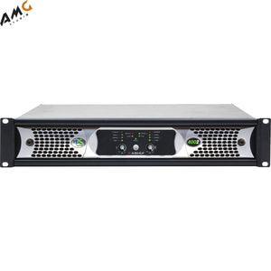 Ashly NXE4002 2-Channel 400W Power Amplifier w/ Programmable Outputs & Ethernet - Studio AMG
