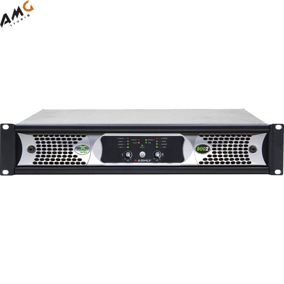 Ashly nXp8002 Network Power Amplifier 2 x 800 Watts/2 Ohms with Protea DSP - Studio AMG