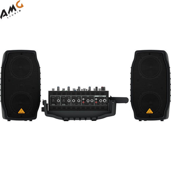 Behringer EUROPORT PPA200 200W 5-Channel Portable PA System with Wireless Option - Studio AMG