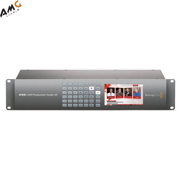 Blackmagic Design ATEM 2 M/E Production Studio 4K SWATEMPSW2ME4K - Studio AMG
