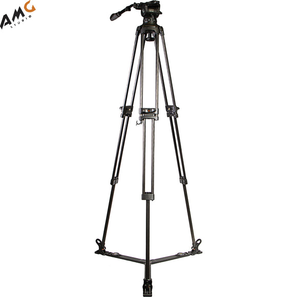 Ikan E-Image GC102 2-Stage Carbon Fiber Tripod with GH10L Head EG10C2L - Studio AMG
