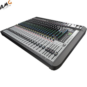Soundcraft Signature 22MTK 22-Input Multi-Track USB Recording Mixer with Effects - Studio AMG