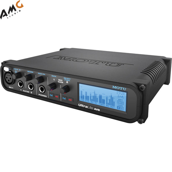 MOTU Midi UltraLite AVB Ethernet Audio Interface For Recording 18x18 - Studio AMG