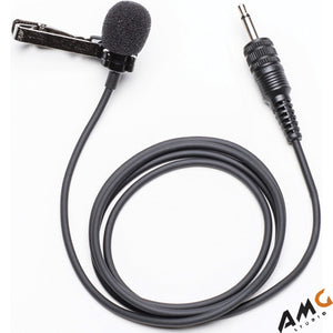Azden EX-50L Broadcast Omni Directional Lapel Microphone with Locking 3.5mm Plug - Studio AMG