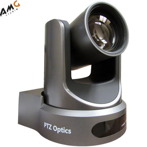 PTZOptics 12x-USB Gen2 Video Conferencing Camera (Gray) PT12X-USB-GY-G2 1080p - Studio AMG