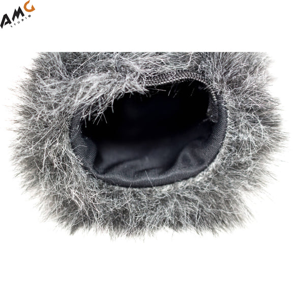 Azden SWS-15 Furry Windshield Cover for SMX-15 Microphone - Studio AMG