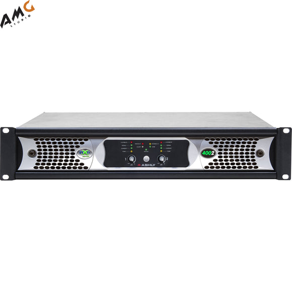 Ashly nXp4002d 2x 400 Watts/2 Ohms Network Power Amplifier with Protea DSP Soft - Studio AMG