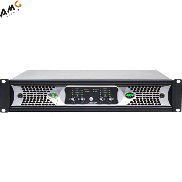 Ashly nXp4004d 4x 400 Watts/2 Ohms Network Power Amplifier with Protea DSP Soft - Studio AMG