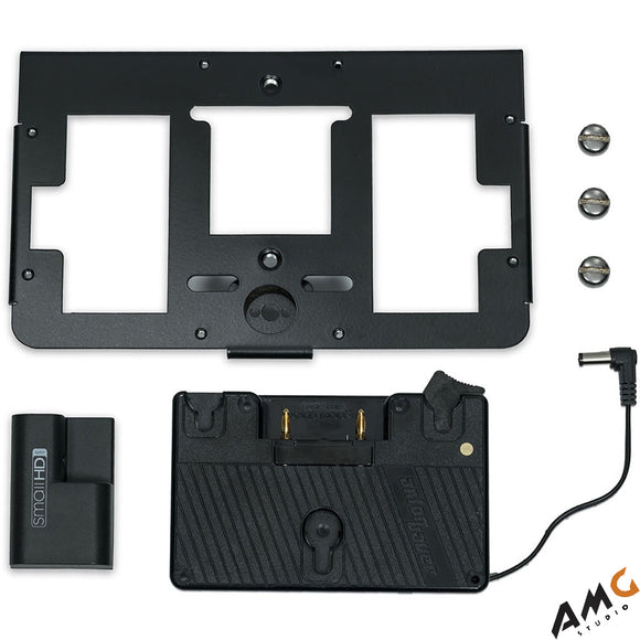 SmallHD Gold Mount Battery Bracket with Mounting Plate for 700 Series Monitor - Studio AMG