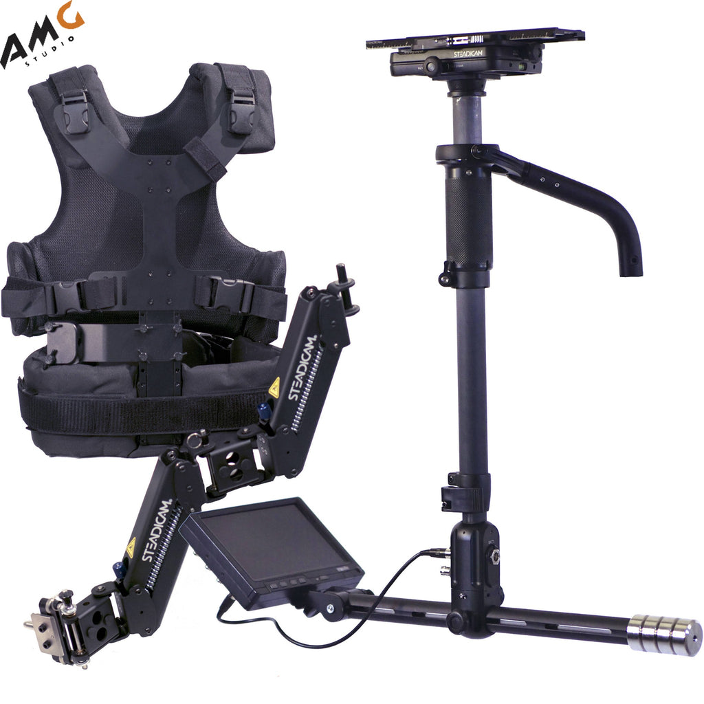 "Steadicam Aero Stabilizer with A-15 Arm, Vest, and 7"" Monitor (No Battery Mount)"