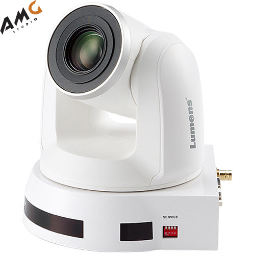 Lumens VC-A70H 4K UHD 12x Optical Zoom PTZ Video Camera (White) - Studio AMG