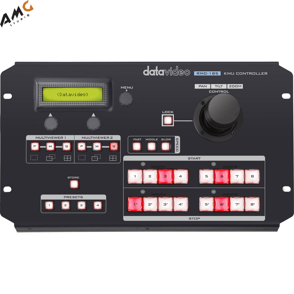 Datavideo RMC-185 KMU Controller with Joystick and Preset Buttons For KMU-100
