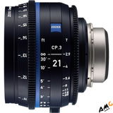 ZEISS CP.3 21mm T2.9 Compact Prime Lens (PL Mount, Meters) 2183-060 - Studio AMG