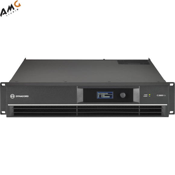 Dynacord C2800FDi C-Series FIR-Drive Power Amplifier 2800W C2800FDI-US - Studio AMG