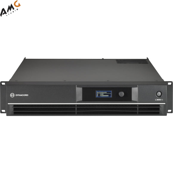 Dynacord L3600FD L-Series FIR-Drive Power Amplifier 3600W L3600FD-US - Studio AMG