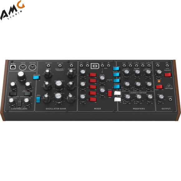 Behringer Model D Analog Synthesizer with Ladder-Style Filter - Eurorack Compatible - Studio AMG