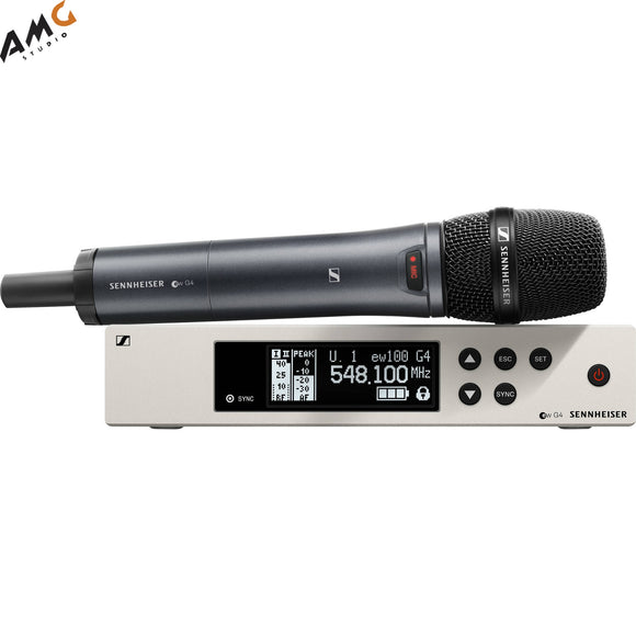Sennheiser EW 100 G4-835-S Wireless Handheld Microphone System with MMD 835 Capsule (A1: 470 to 516 MHz) - Studio AMG