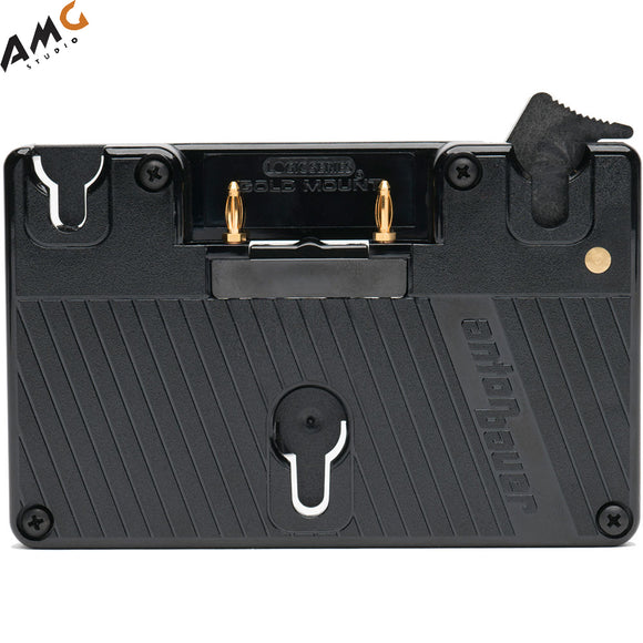 SmallHD Battery Plate for 503/703 UltraBright On-Camera Monitor (Gold Mount) - Studio AMG