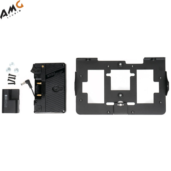 SmallHD Gold Mount Battery Bracket with Mounting Plate for 702 OLED Monitor - Studio AMG