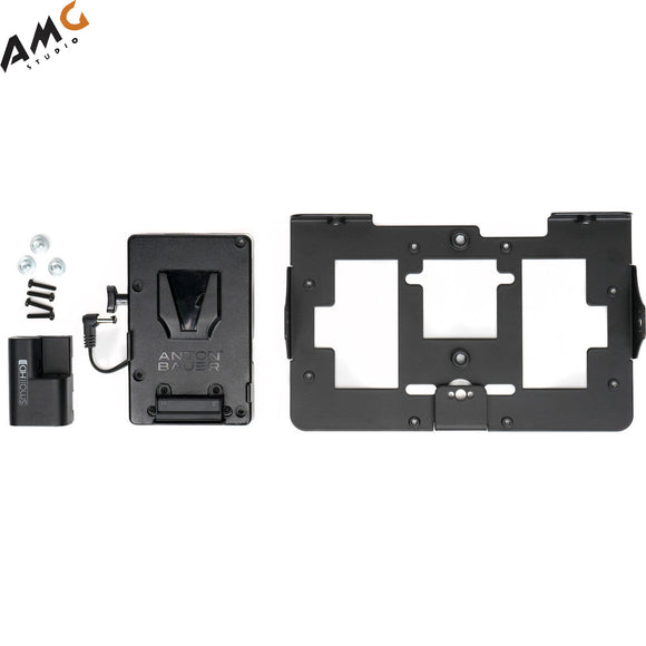 SmallHD V-Mount Battery Bracket with Mounting Plate for 702 OLED Monitor - Studio AMG