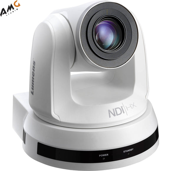 Lumens VC-A50PN 1080p 60 fps 20x Optical Zoom PTZ Network Camera (White) - Studio AMG
