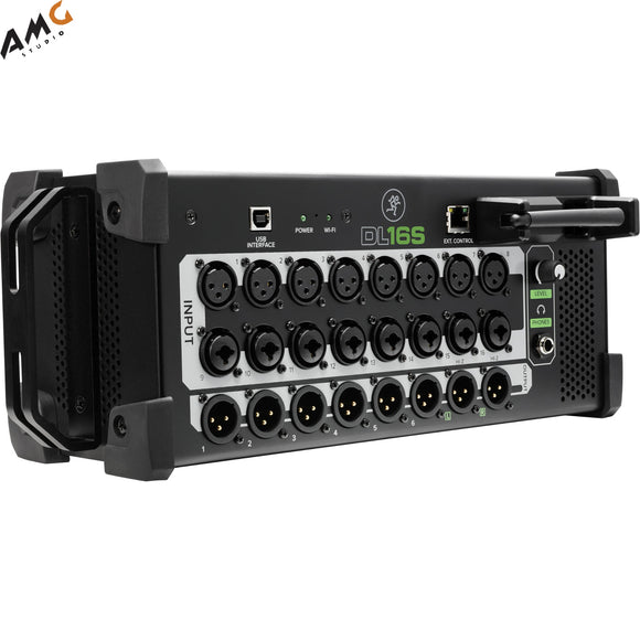 Mackie DL16S 16-Channel Wireless Digital Live Sound Mixer with Built-In Wi-Fi - Studio AMG