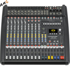 Dynacord CMS III 10-Channel Power Mixer DC-CMS1000-3-MIG - Studio AMG