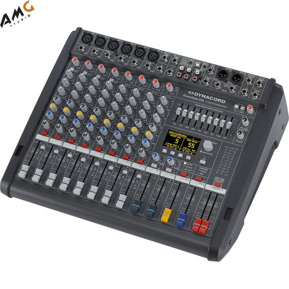 Dynacord PowerMate 3 8-Channel Powered Mixer DC-PM600-3-MIG - Studio AMG