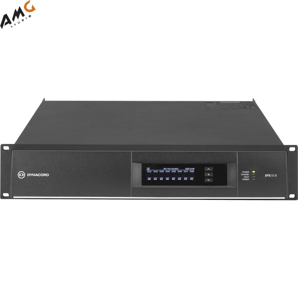 Dynacord IPX10:8 DSP Power Amplifier 8x1250W With Omneo/Dante-Fir Drive, Install-32A Powercon Power Connector - Studio AMG