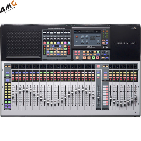 PreSonus StudioLive 32S Series III S 40-Channel Digital Mixer/Recorder/Interface - Studio AMG