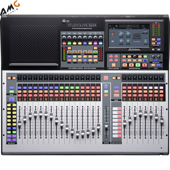 PreSonus StudioLive 32SX Series III S 32-Channel Compact Digital Mixer/Recorder - Studio AMG