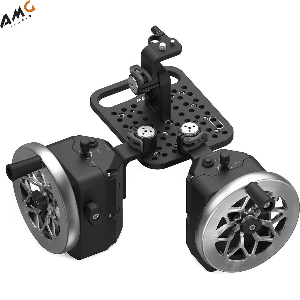 FREEFLY MōVI Wheels 2-Axis Module (Cutout Stainless Steel) 950-00086-C2
