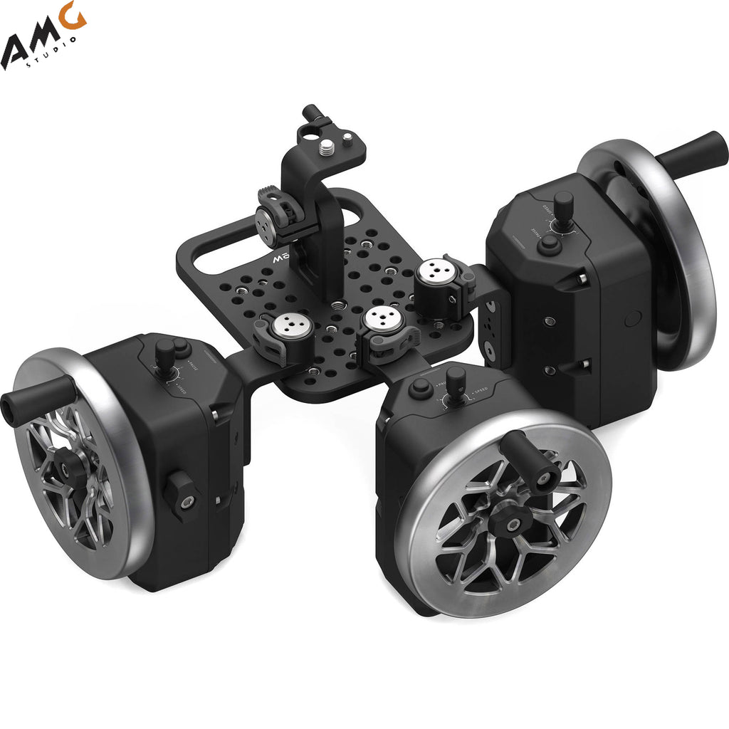 FREEFLY MōVI Wheels 3-Axis Module (Cutout Stainless Steel) 950-00086-C3