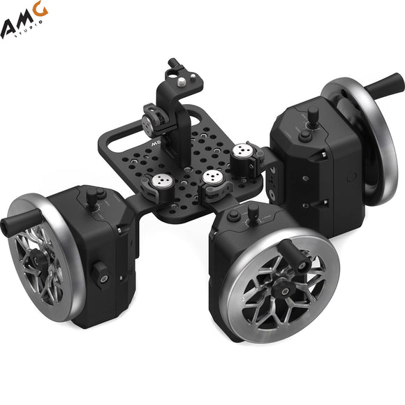 FREEFLY MōVI Wheels 3-Axis Module (Cutout Stainless Steel) 950-00086-C3 - Studio AMG
