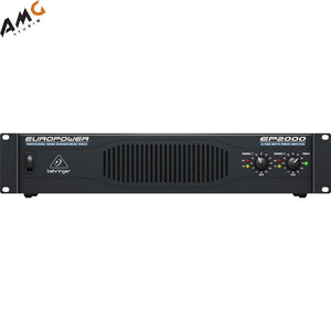Behringer Europower EP2000 Professional Stereo Power Amplifier (400W/Channel @ 8 Ohms) - Studio AMG