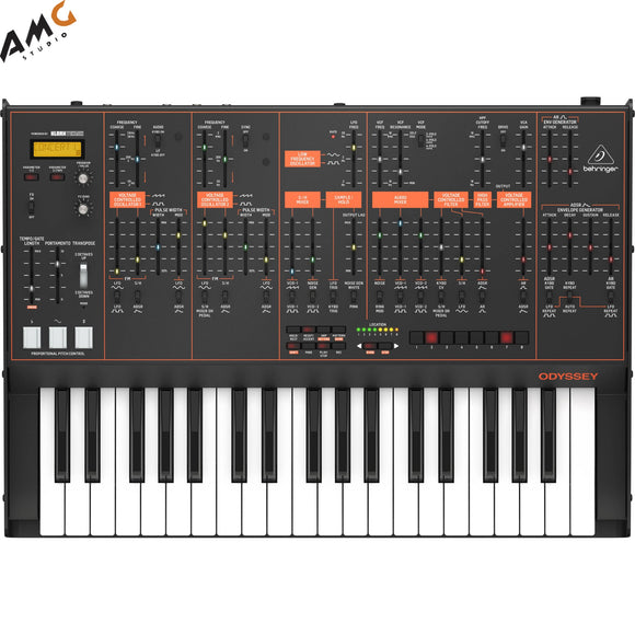 Behringer ODYSSEY Full-Sized Analog Synthesizer with Sequencer and FX - Studio AMG
