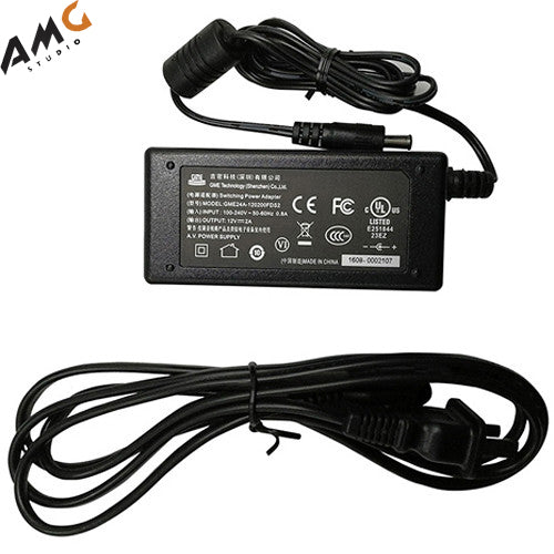 BirdDog 12VDC 2A Power Adapter for P100 and P200 Cameras - Studio AMG