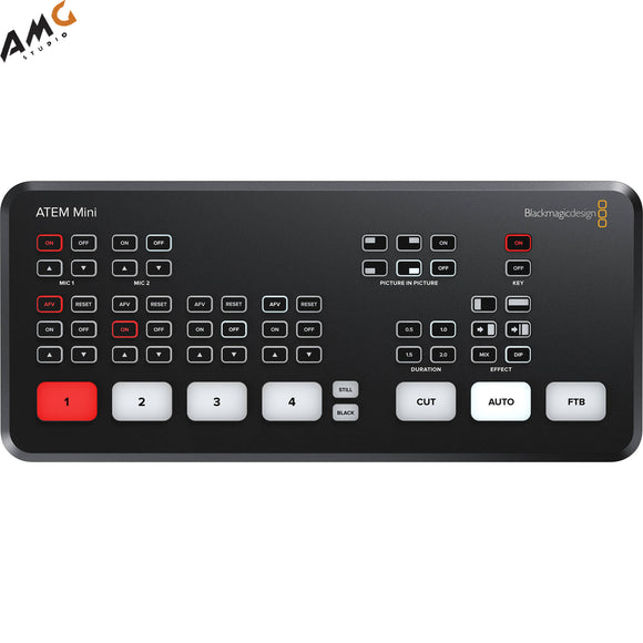 Blackmagic Design ATEM Mini HDMI Live Stream Switcher SWATEMMINI in stock - Studio AMG