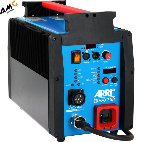 ARRI EB MAX 2.5/4K High-Speed Electronic Ballast with AFL, CCL, DMX & AutoScan (US, EU) - Studio AMG