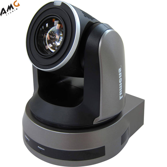 Lumens VC-A61P 30X Optical Zoom 4K/30fps 1080p/60fps IP PTZ Video Camera (Black) - Studio AMG