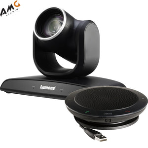 Lumens VC-B30UA 2MP PTZ Camera with Jabra Speaker (Black) - Studio AMG
