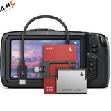 Angelbird 1.512TB Match Pack for Blackmagic Pocket Cinema Camera 6K (Graphite Gray | Red) - Studio AMG