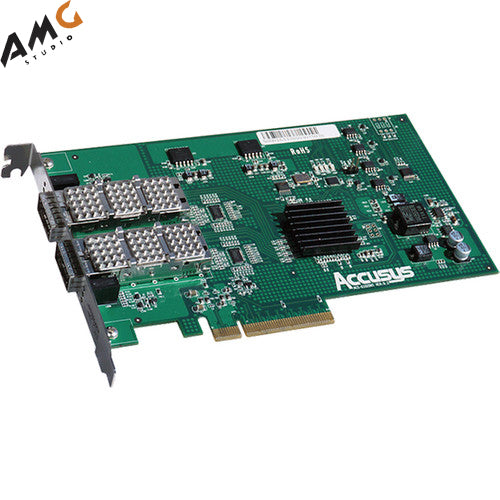 Accusys Z2D-G3 Dual Port QSFP HBA Card - Studio AMG